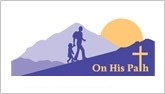 On His Path logo